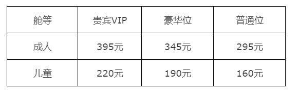 香港机场航线票价