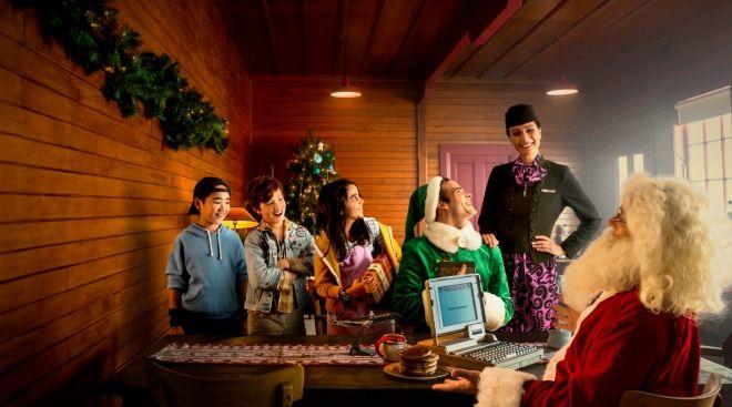 新西蘭航空搞怪創意電影:《圣誕乖寶宣言》