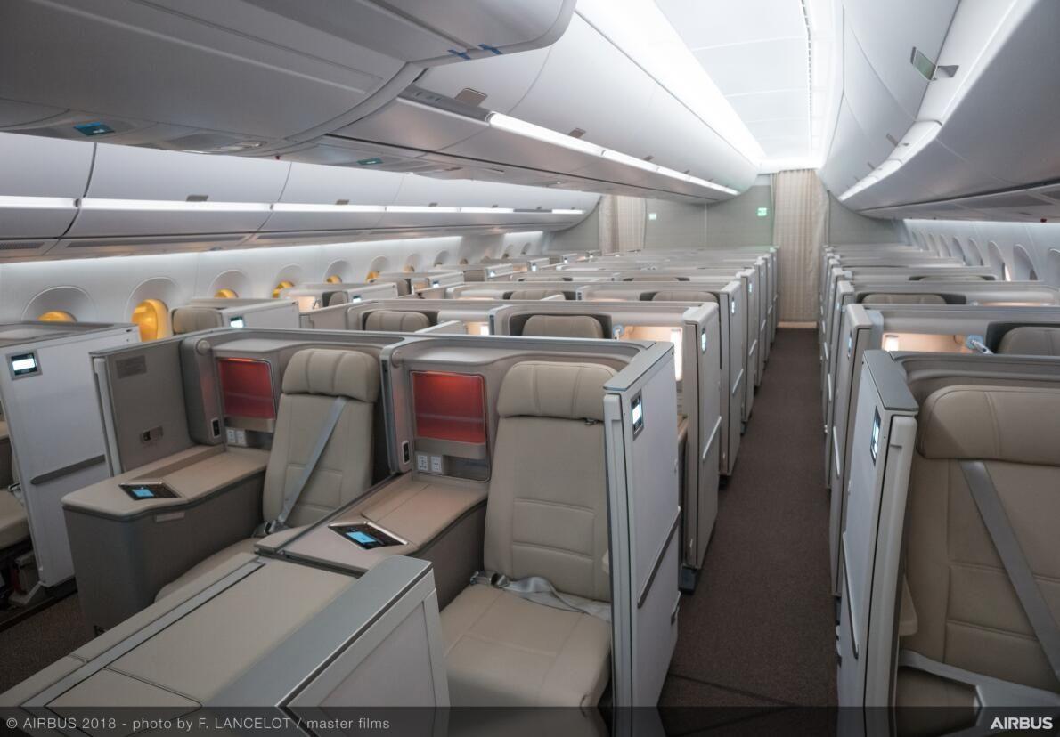 东航A350公务舱
