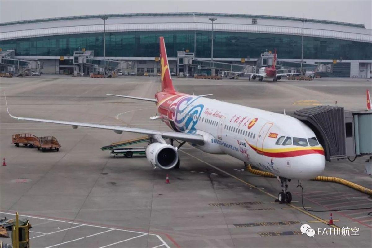 天津航空A321客机