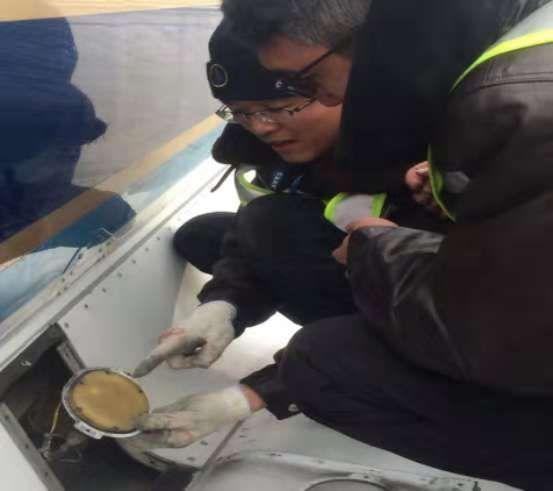 南航新疆机务: 机坪上的冬天