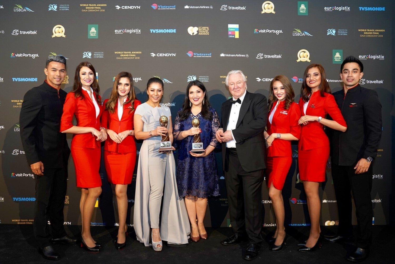 世界旅游奖总决赛亚航蝉联世界领先低成本航空