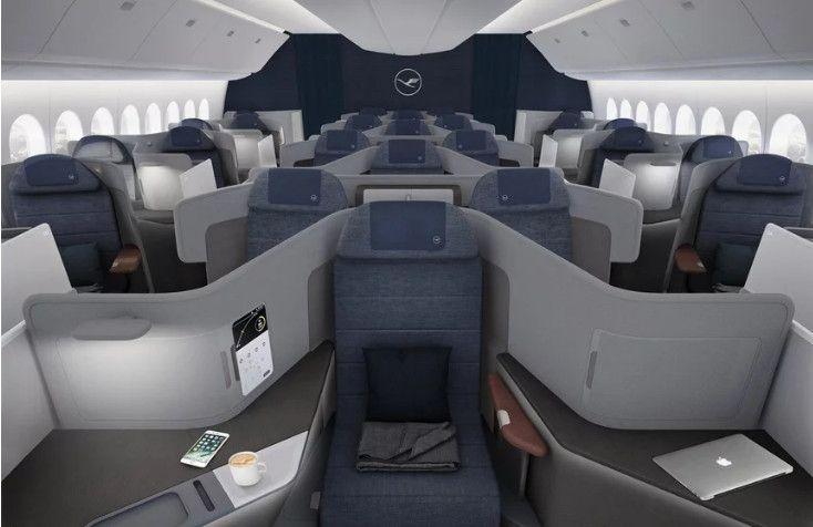 民航早报:汉莎或在777X上配备新的头等舱套间