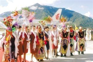 民航西藏区局年保障旅客吞吐量突破500万人次