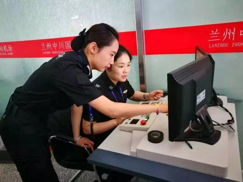 兰州中川机场安检员李莉:奋斗的青春最美丽