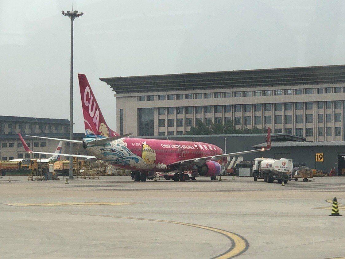 本次搭乘的是中国联合航空737-700无小翼客机