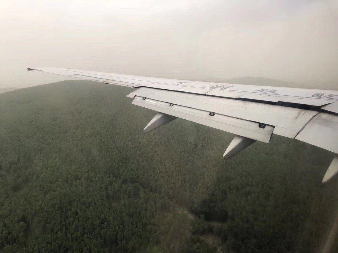 阿尔山机场近进阶段
