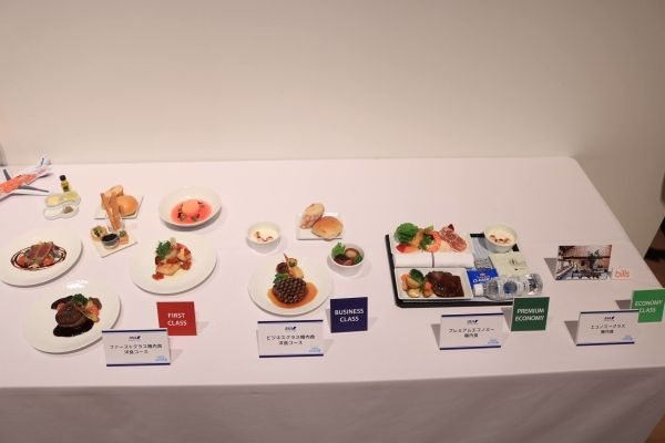 全日空A380飞机机上配餐 摄影:官网