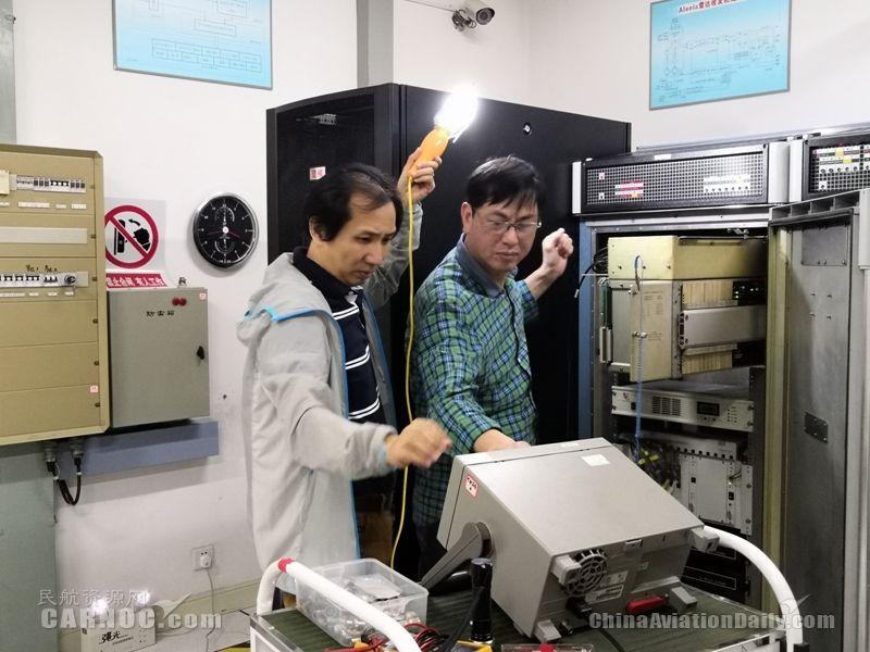 厦门空管站成功修复ALENIA雷达MIXER PIF组件