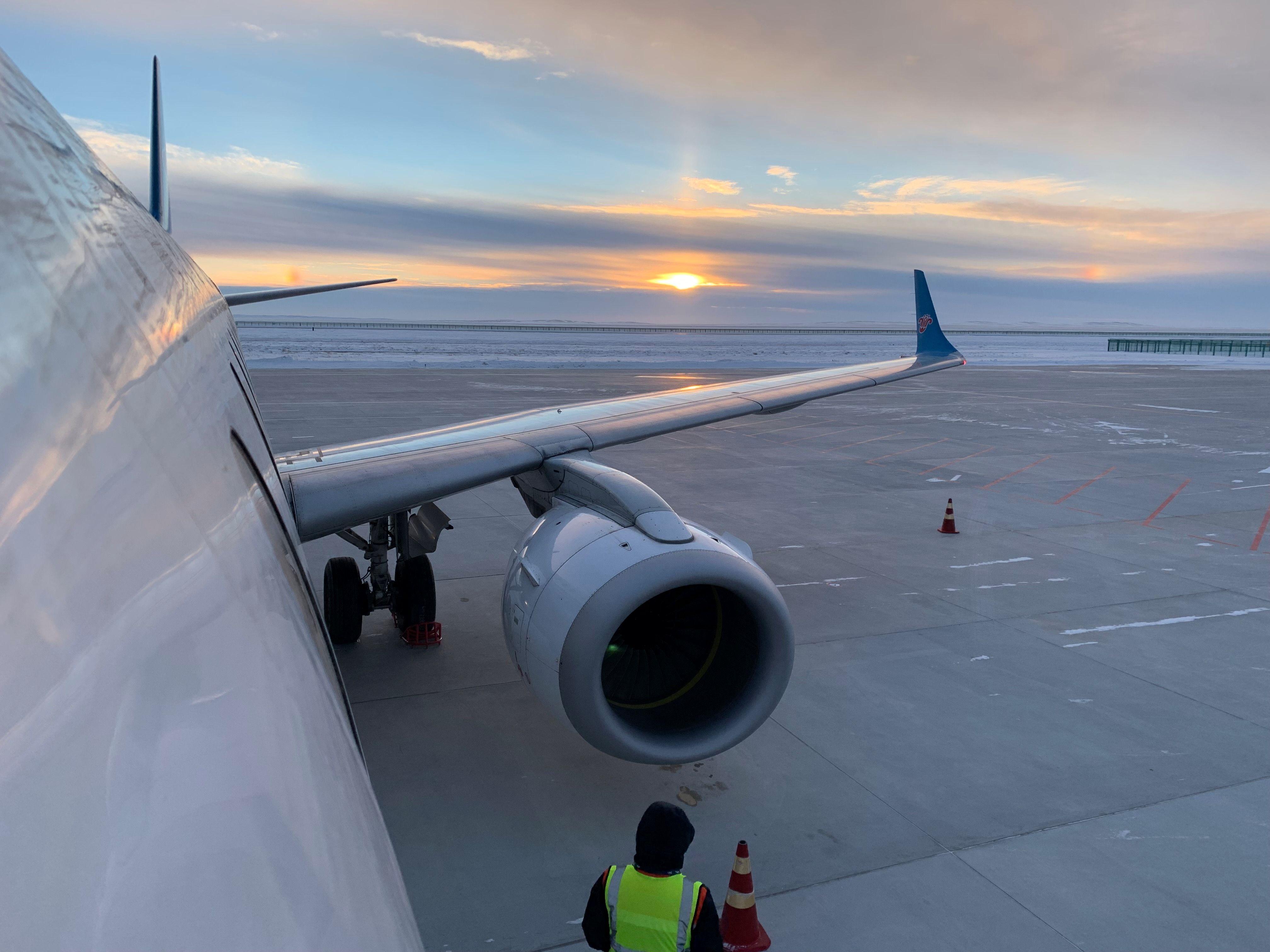 乌鲁木齐—富蕴航班由于南航计划原因取消