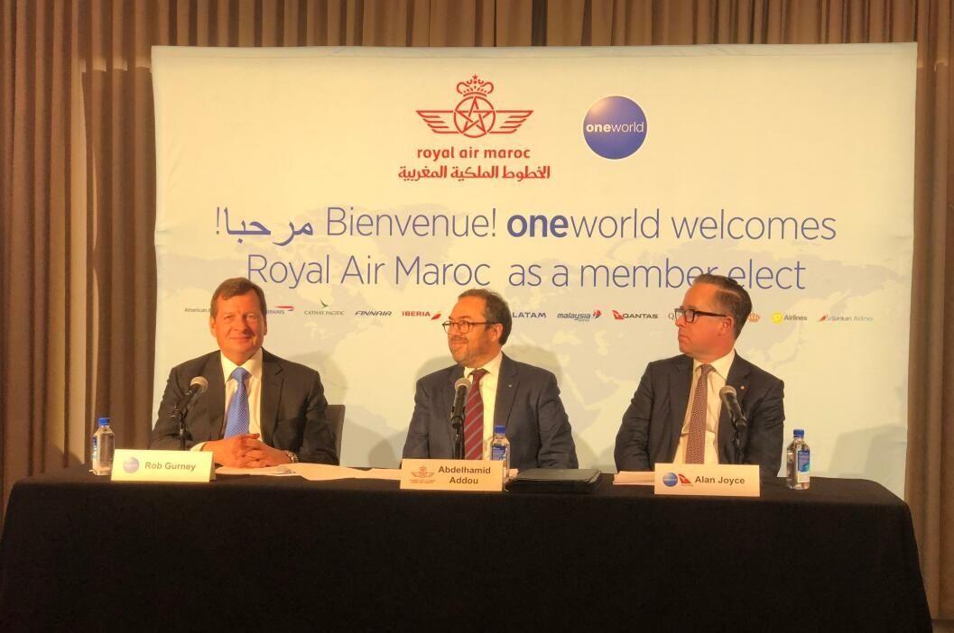 摩洛哥皇家航空入盟!寰宇四年来首增新成员