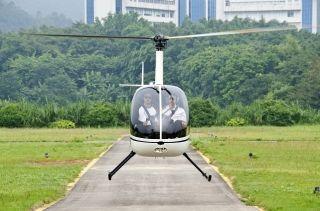 廣州穗聯順利完成對深圳警航的飛行訓練任務