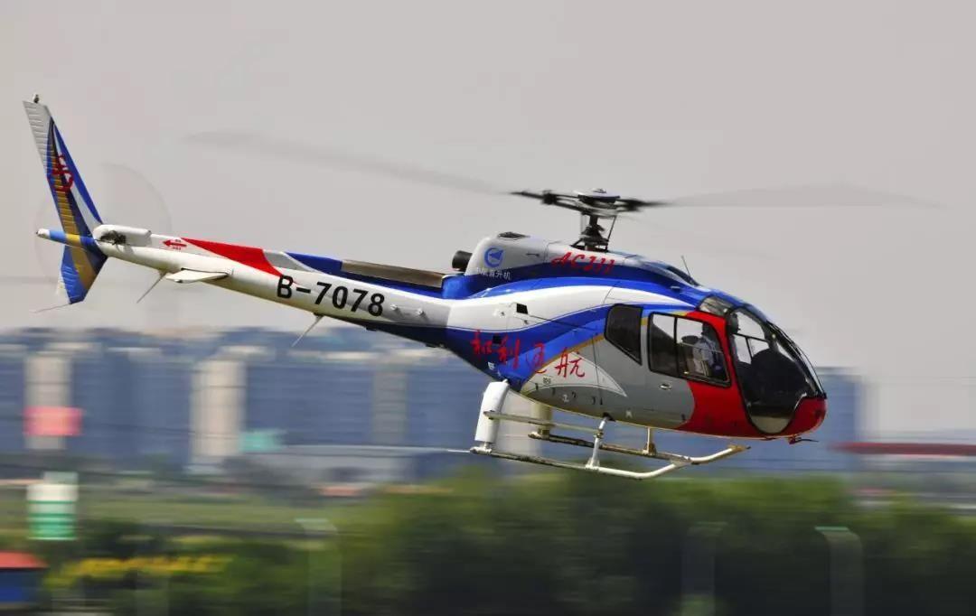 景德镇购买2架AC311 系江西首个拥有直升机的城市