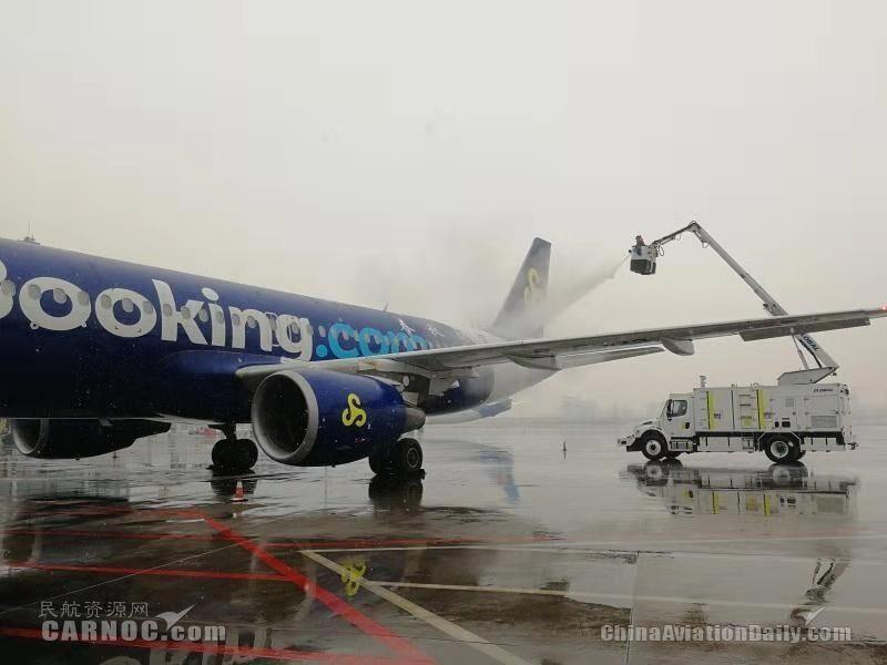 春秋航空11月准点率再获第一 全力保障冬季运行