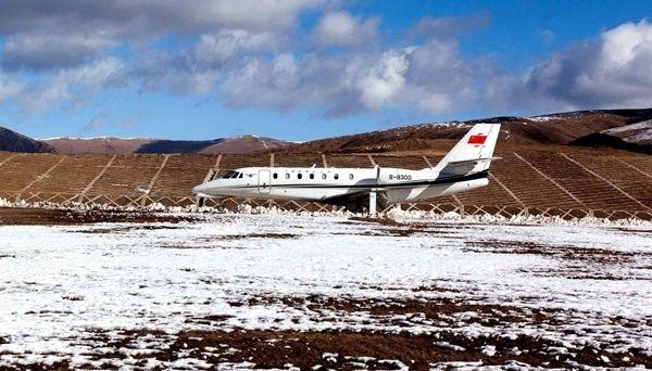 甘孜格萨尔机场正式飞行校验 力争2019年通航