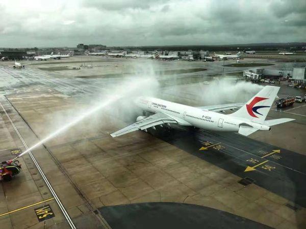 东航正式开通上海浦东—伦敦盖特维克航线