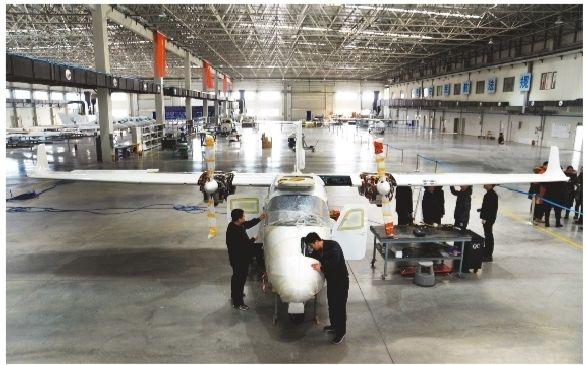 """沈阳""""民企造""""飞机实现量产 订单达150架"""