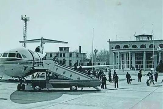 燕庄机场老照片