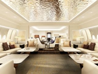 波音777X公务机内饰  图片来源:波音公司