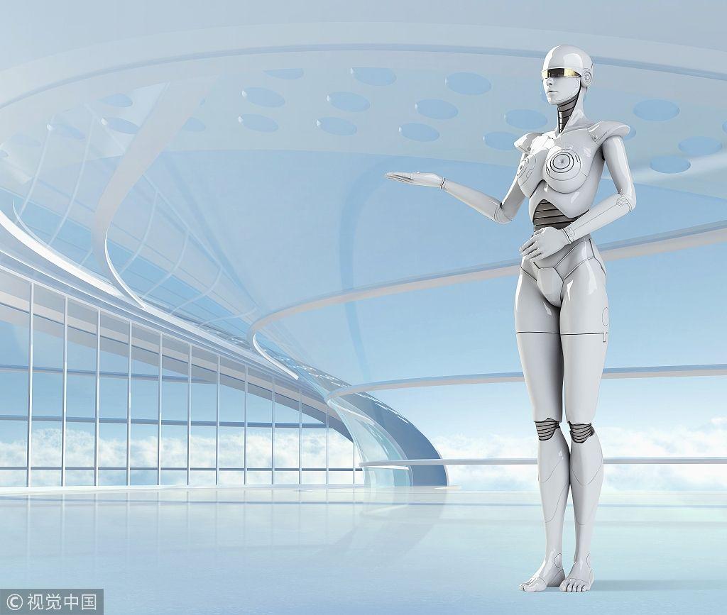 """猜猜看 未來機場會成為機器人的""""主場""""嗎?"""