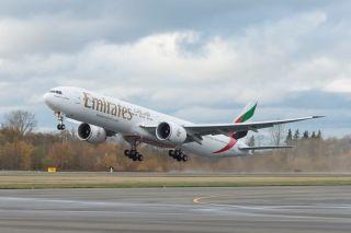 阿联酋航空接收最后一架77W飞机 第190架777
