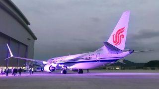 繼空客天津工廠后,波音舟山工廠也交付了飛機