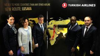 土耳其航空开通卢萨卡航线 非洲目的地达55个