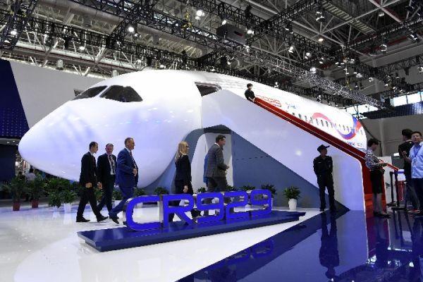 中俄CR929项目 法国宁愿被美国制裁也要参与