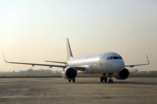青岛航空迎第5架A320NEO   机队规模达19架