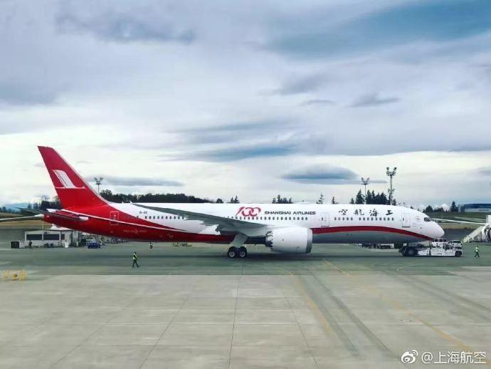 上航787将执飞浦东到新加坡和墨尔本往返航班