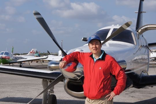中国环球飞行第一人陈玮在乔治亚坠机遇难