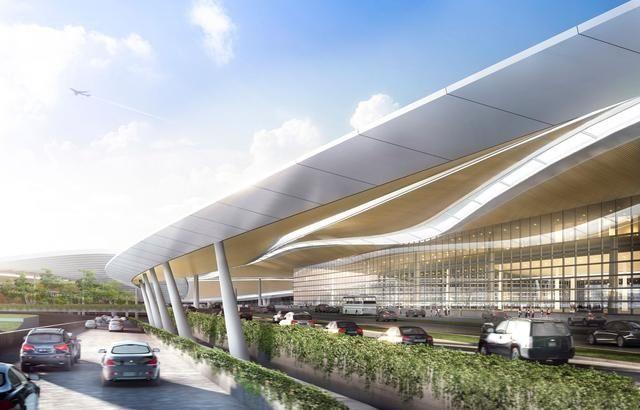 成都天府国际机场设计出炉