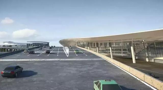 乘车通过天府国际机场高速可以直达机场