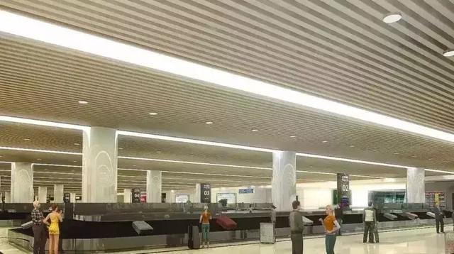 天府国际机场到达区行李提取