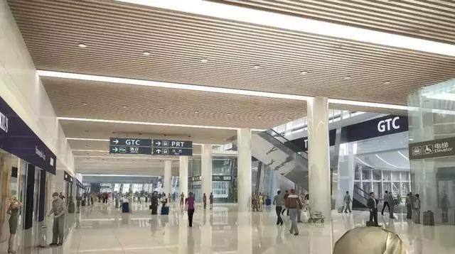 机场换乘大厅