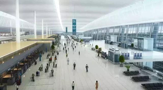 机场值机大厅