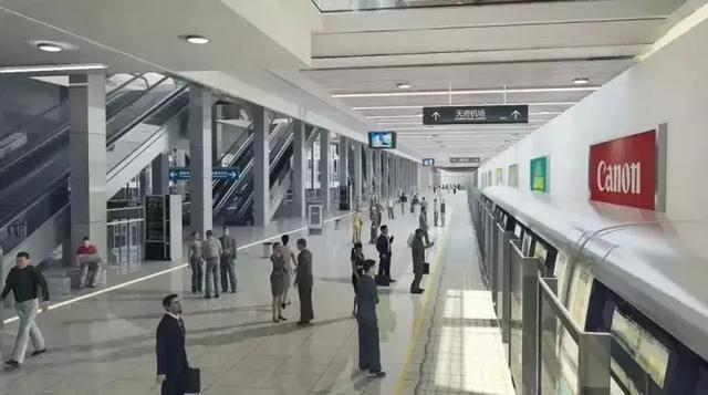 乘坐地铁18号线也可直达天府国际机场