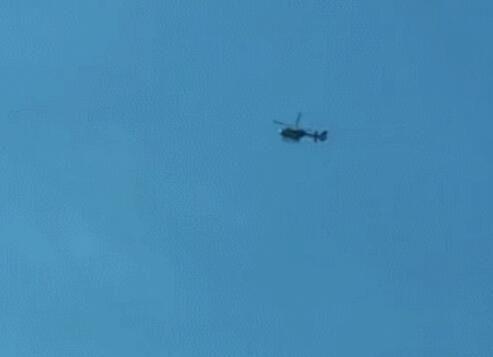 派出的直升机