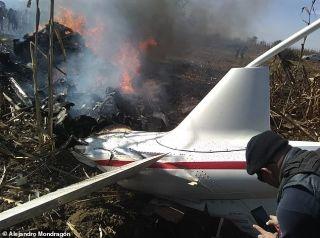 就职仅10天 墨西哥女州长及丈夫因飞机失事丧生