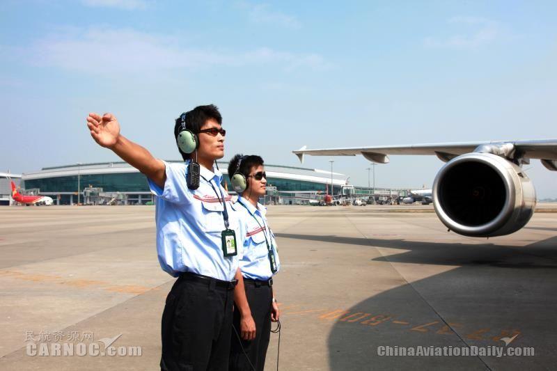 白云机场改革开放40年 供图/白云机场