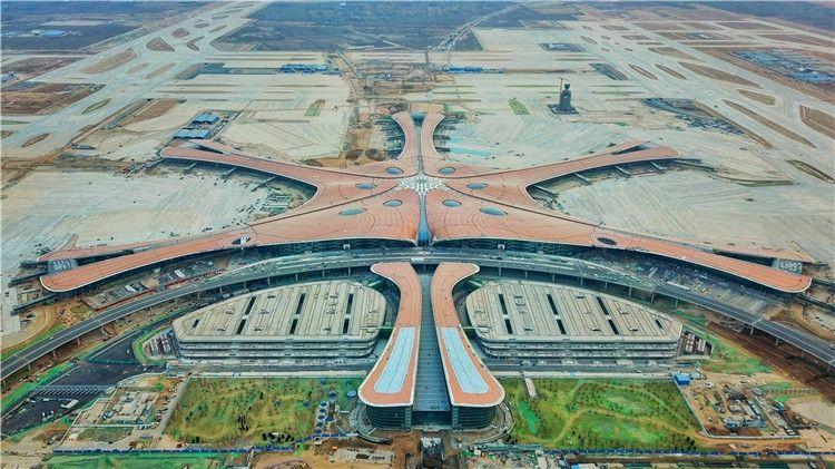 【民航通】大兴国际机场跑道全面贯通