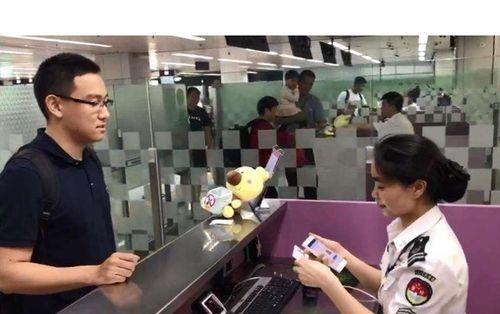 图:无纸化电子通关 图片来源:光明日报