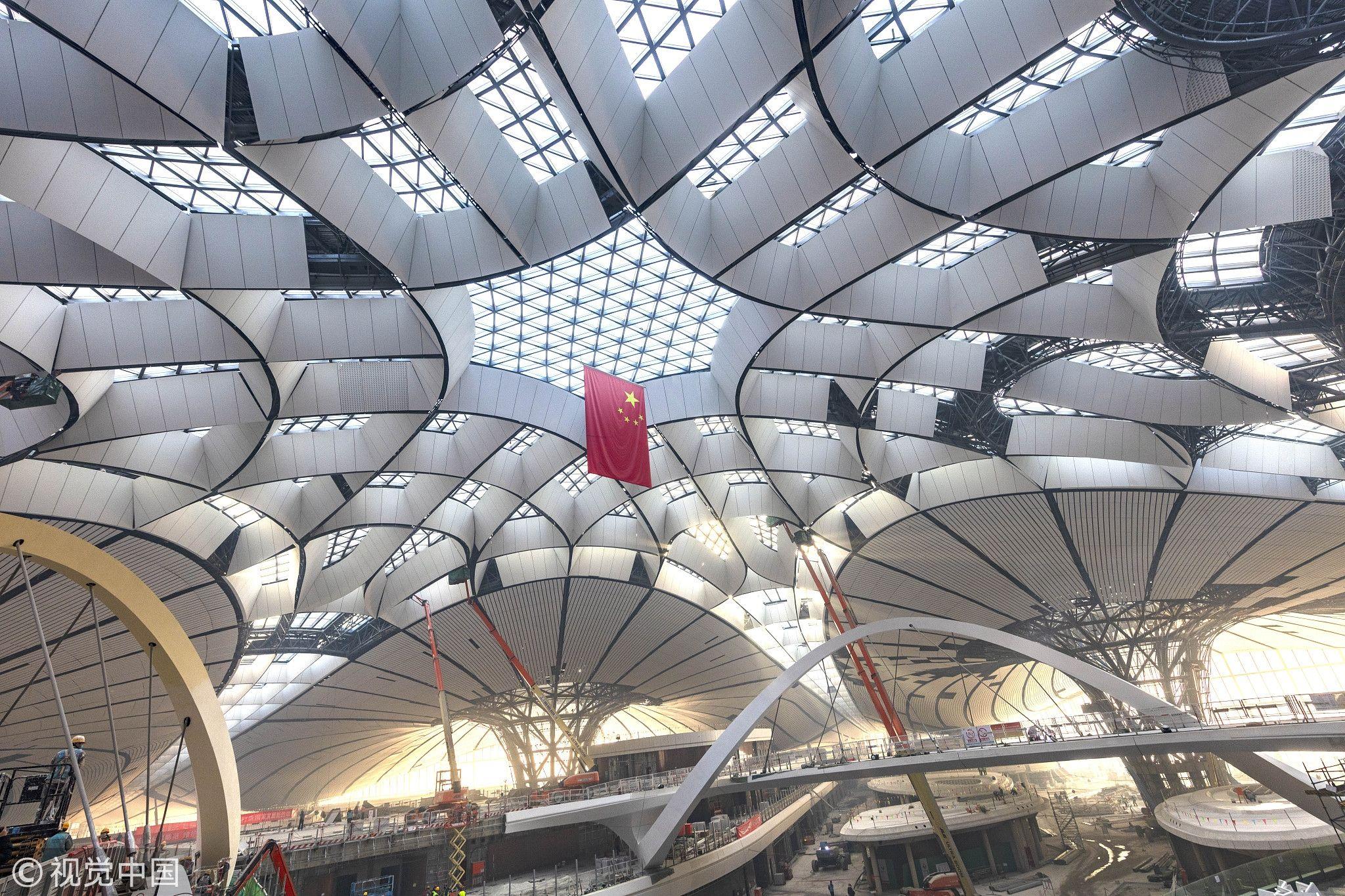 北京新机场9月底通航,半小时可通达中心城区
