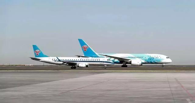 南航新疆分企业首架E190飞机退租