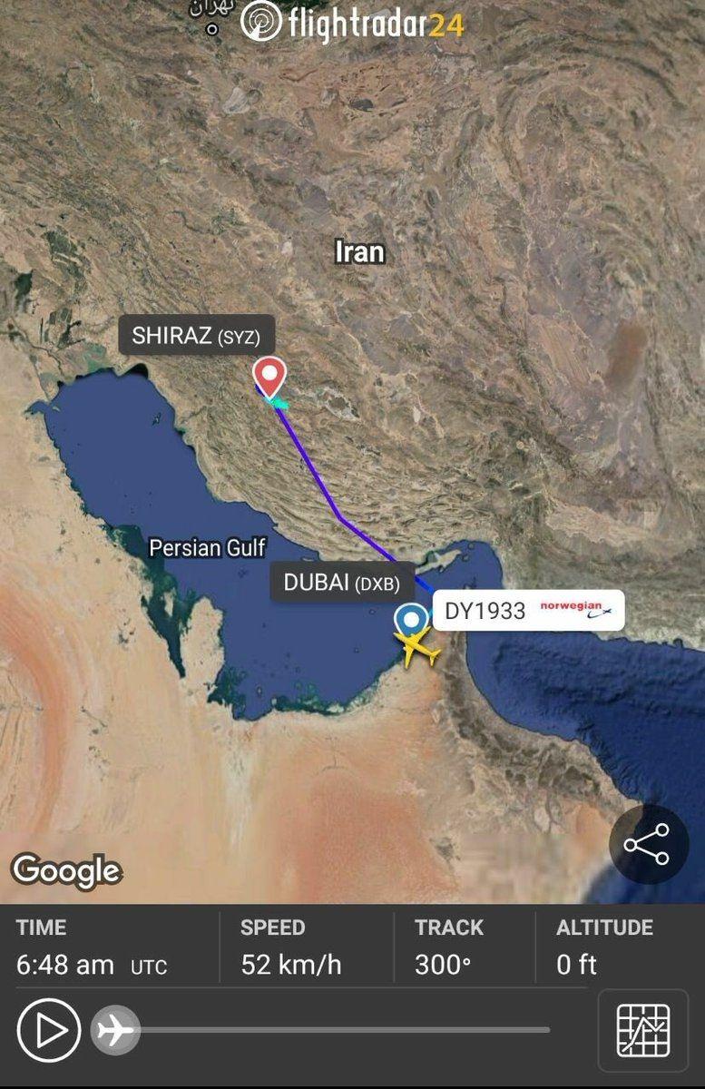 飞机备降伊朗