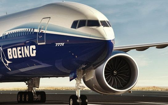 视频:波音在首架777X上安装世界最大航发