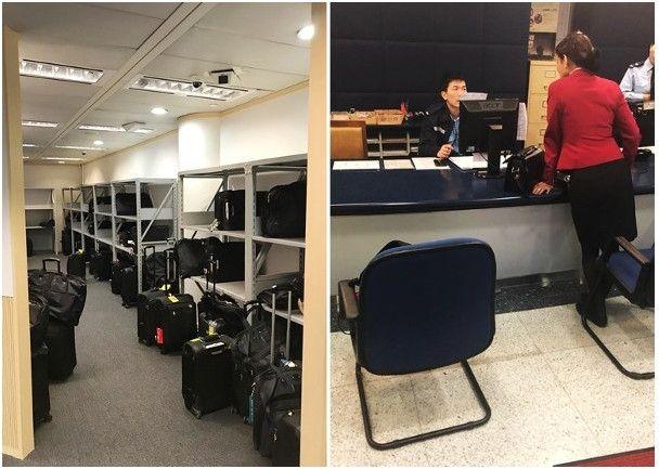 国泰航空丢弃多位空姐行李 被轰不近人情