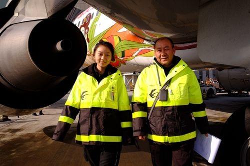 杨佳郁和父亲杨伟在一起 摄影:姜静
