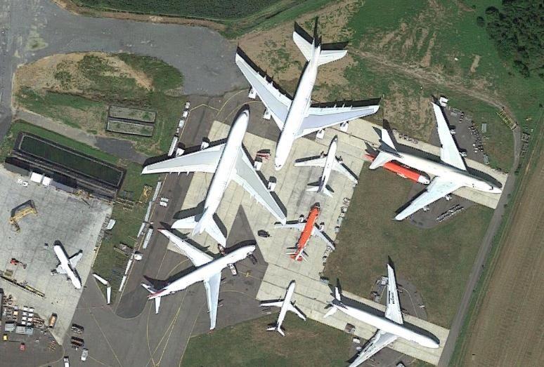 首批A380客机开始拆解 4500万美元出售零部件