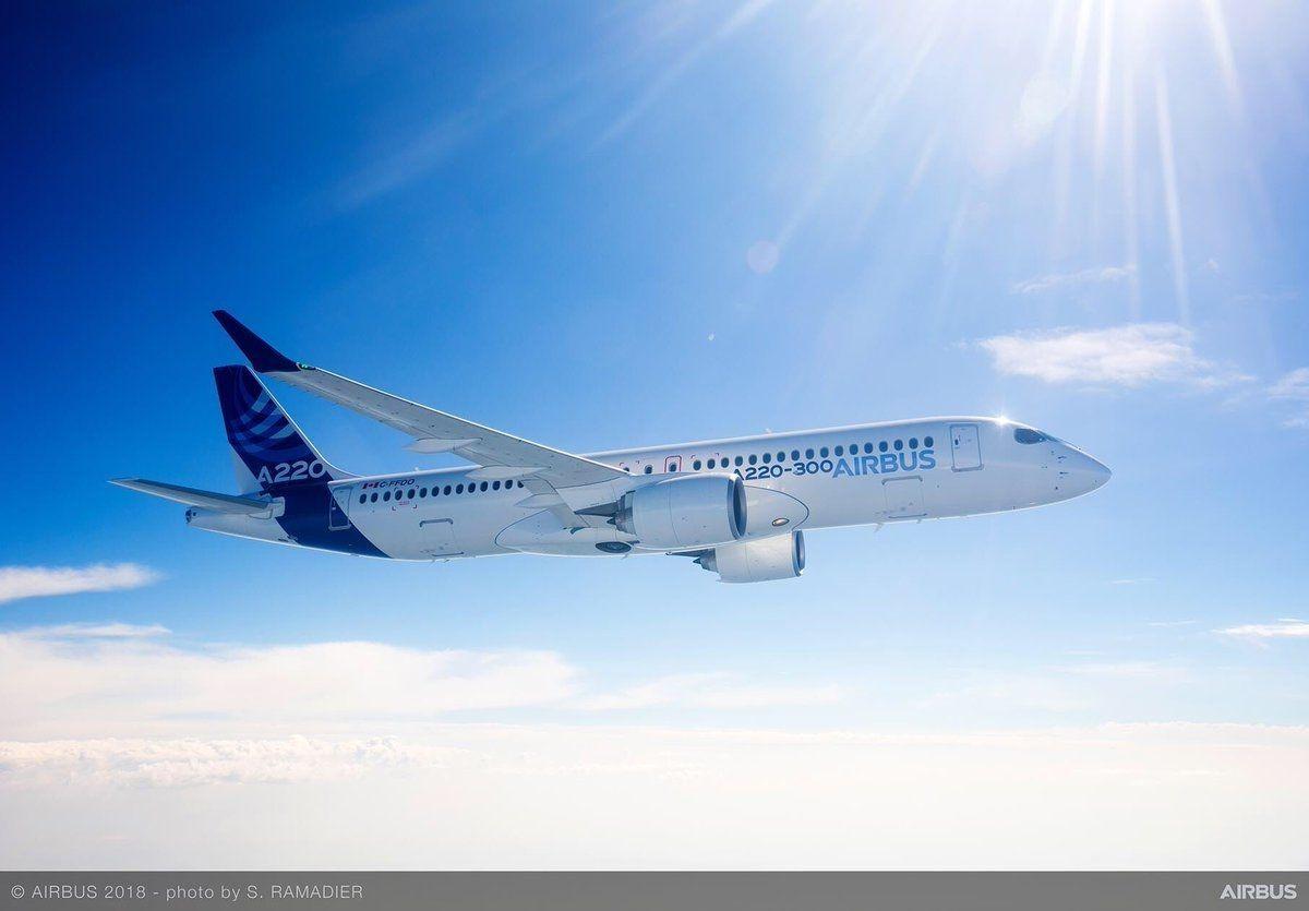 空中客车向美国两航空公司售出客机120架
